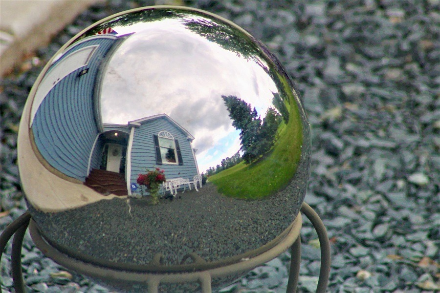 House via Gazing Ball