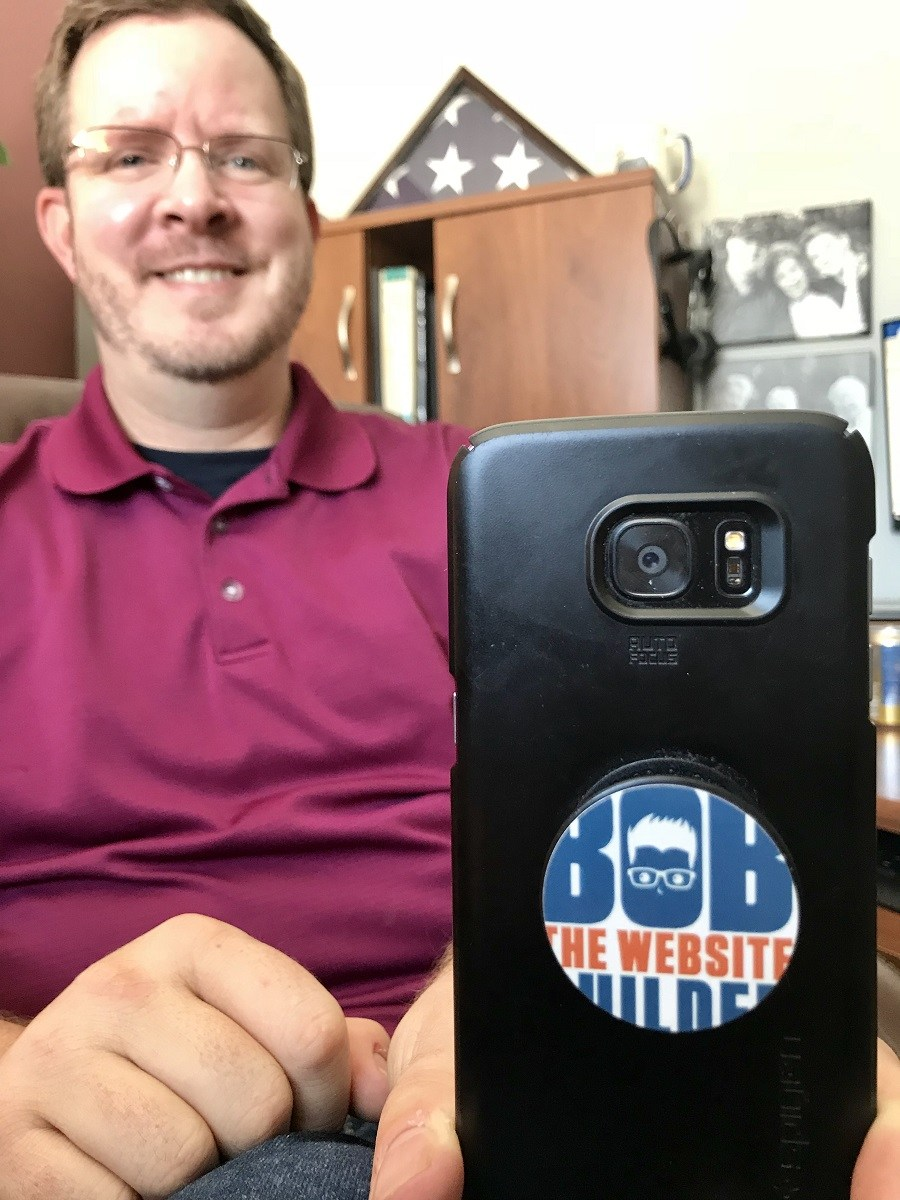 Rob's New Popsocket